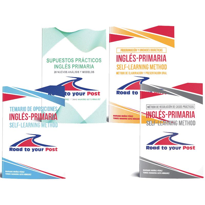 Pack Premium Plus. Cuatro libros para preparar las oposiciones de inglés de primaria